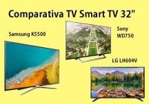 Comparativa TV: Televisores Smart TV de 32 pulgadas
