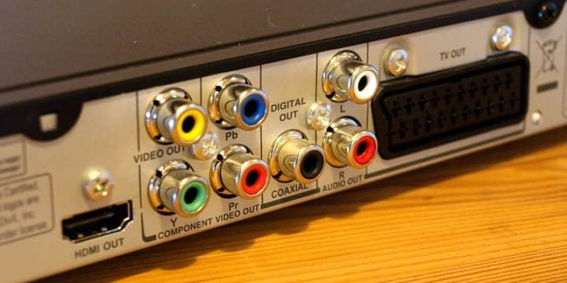 Tipos de conexiones de audio y video