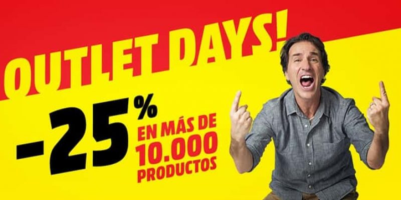 Ofertas Outlet Days de Media Markt